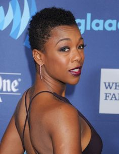 Show off your natural hair texture while staying in the closely-cropped realm with a sweet short cut like Samira Wiley's.  - GoodHousekeeping.com