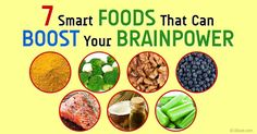 7 Smart Foods That Can Boost Your Brainpower