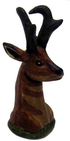 Awards & Gifts :: Wood Badge :: Antelope Wood Badge :: Antelope Walking Stick Top