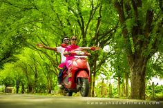 Couple photography #Photoshoot #Photo #couple #WeddingAlbum #Weddingphotography #ShadowFilmArt #outdoorshooting Aww! it looks so cool when you both ride together We captured it to make you know that how lovely you were made for each other ©http://www.shadowfilmart.com FOR BOOKING_ +91 7708844995