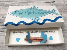 Geldgeschenke - Geldgeschenk zur Konfirmation - ein Designerstück von Kunstundtext bei DaWanda