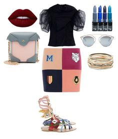 """""""Flats never looked so good"""" by daddiesliljewel on Polyvore featuring Ancient Greek Sandals, STELLA McCARTNEY, Simone Rocha, MANU Atelier, Christian Dior, Lime Crime and Kendra Scott"""