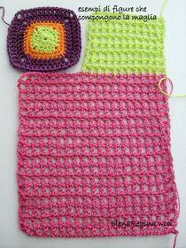 un mondo said colori . Irish Crochet, Double Crochet, Easy Crochet, Free Crochet, Crochet Top, Gilet Crochet, Crochet Jacket, Crochet Hats, Crochet Shorts Pattern