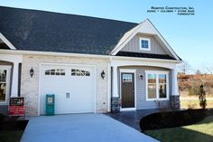 Rempfer Construction, Inc. Columns, Garage Doors, Construction, Outdoor Decor, Home Decor, Building, Decoration Home, Room Decor, Home Interior Design