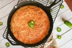 Jalapeño Cheddar Cornbread Recipe