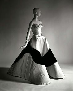 """Clover Leaf"" Charles James (American, born Great Britain, 1906–1978) Date: 1953 Culture: American Medium: silk, silk/rayon"