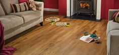 VGW86T Classic Oak Living Room Flooring - Van Gogh