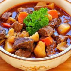 Recept za pravi madjarski gulaš