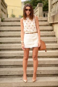 The complete outfit here: http://www.fashionsalade.com/lovelypepa/2012/09/18/nude-studded-skirt/