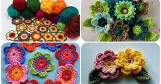 Örgü Çiçek Motifleri İle Hayatınıza Renk Katın