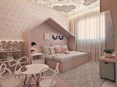 To se mi líbí, 48 komentářů – Ideen für Babyzimmer ( … - Zimmereinrichtung Kids Bedroom Designs, Cute Bedroom Ideas, Cute Room Decor, Kids Room Design, Baby Room Decor, Bedroom Decor, Teen Girl Bedrooms, Big Girl Rooms, Baby Zimmer Ikea