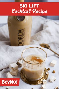 The best words to describe the Ski Lift are simple and delicious! Sea salt caramel liqueur and vodka are all you need to craft this delicious drink for your holiday guests. Click here to learn more!