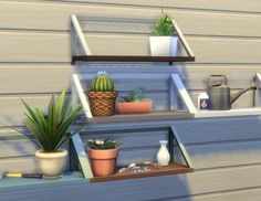 Balsa Shelf by plasticbox at Mod The Sims via Sims 4 Updates Sims Four, Sims 4 Mm Cc, My Sims, Sims 4 Cc Furniture Living Rooms, Toddler Furniture, Sims 4 House Building, Sims 4 Clutter, Sims 4 Toddler, Sims 4 Build