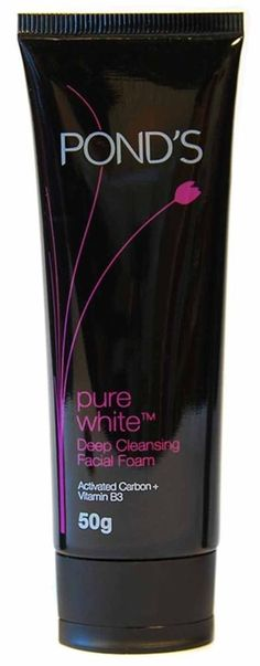 Pond's Pure White Deep Cleansing Facial Foam Face Wash 50g #Ponds