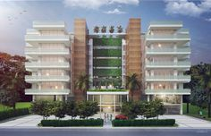LeJardin Residences is situated between the bustling centers of Aventura and Miami Beach, just a short walk away from the beach.