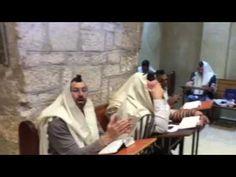 Steven Ben-DeNoon Receives Rabbi Blessing At Rachael's Tomb
