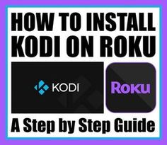How to Install Kodi on Roku - A Step by Step Guide Roku Streaming Stick, Tv Streaming, Computer Lessons, Computer Tips, Computer Gadgets, Windows 10 Hacks, Tv Without Cable, Cable Tv Alternatives, Tv Hacks