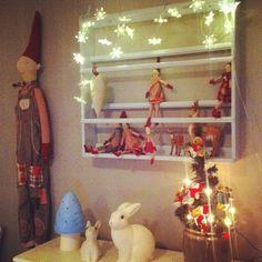 jul og maileg har inntatt barnerommet
