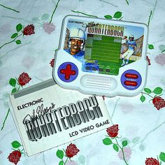 John Elway Quarterback Tiger Electronics Handheld Lcd 1989 Game Memorabilia Americian Football Vintage Collectable Video Game Sound Sport - SOLD OUT