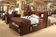 Great for freeing up floor space with the storage under the bed.