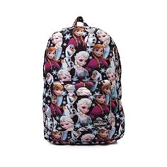 Womens Frozen Print Backpack