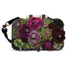Mary Frances Multi Purple Magic Handbag (18.930 RUB) ❤ liked on Polyvore featuring bags, handbags, multi, rhinestone studded handbags, clear bags, clear hand bags, purple purse and sparkly purses