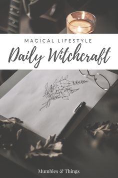 In order to experience magic in your daily life you need to make room for it. Every day can be magical if you make a conscious choice to embrace it. This post is full of tips and techniques that you… Pagan Witchcraft, Green Witchcraft, Hedge Witchcraft, Wiccan Magic, Wiccan Witch, Magick Spells, Witchcraft For Beginners, Baby Witch, Eclectic Witch