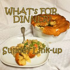 What's For Dinner? Sunday Link-Up at lazygastronome