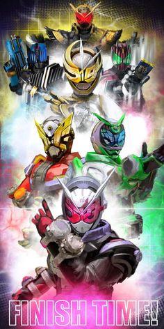 Kamen Rider Zi-O! Basically Den-O fused with Decade! Kamen Rider Kabuto, Kamen Rider Zi O, Kamen Rider Decade, Kamen Rider Series, Character Art, Character Design, Black Pug Puppies, Fan Poster, Dinosaur Art