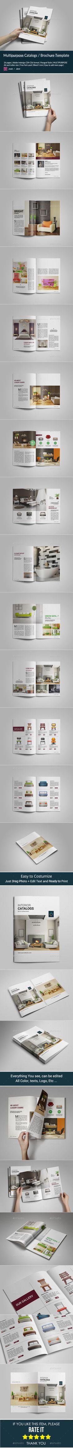 Multipurpose Catalogs / Brochure Template. Download: http://graphicriver.net/item/multipurpose-catalogs-brochure/9727534?ref=ksioks