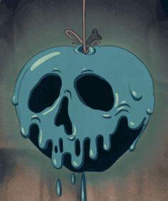 my gif gif disney vintage Halloween animation apple disney gif Snow White and the Seven Dwarfs poison 1937 poison apple halloween gif vintage halloween snow white and the seven dwarfs gif