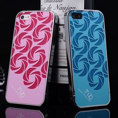 stylish pink and blue iPhone 5 case