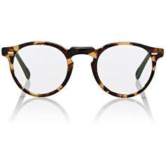 ebb7c1e5dd Oliver Peoples Men s Gregory Peck Eyeglasses (1.080 BRL) ❤ liked on  Polyvore featuring men s