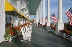 Grand Hotel Mackinac Island. Rated high as an all-inclusive family resort. 7 hours in the car??