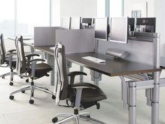 chairs desk monitor modern