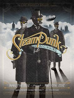"""The term ""Steampunk"" was coined by Jeter to describe the writing genre of the three Cal State Fullerton alumni/authors~ Tim Powers, James Blaylock, KW Jeter.""..."