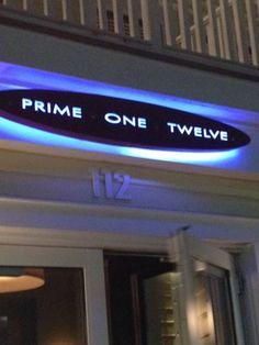 Prime One Twelve - Miami Beach. Great place to celeb-spot!