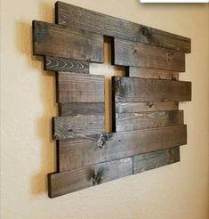 Ideas For Barn Wood Signs Decor Pallet Art Pallet Art, Pallet Projects, Home Projects, Woodworking Projects, Pallet Walls, Diy Pallet, Pallet Signs, Barn Board Projects, Barn Wood Walls