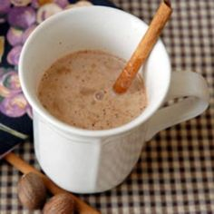 Hot Buttered Rum Batter - This is the recipe I use.  It's fabulous on a cold winter day in front of a fire.