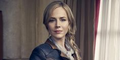 Defiance solo picture with Julie Benz as Amanda Rosewater