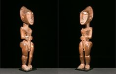 Ancestor Figure    Kulango, Ivory Coast  Early 20th Century  Provenance:Acquired in 1967-1968 by Evelyn Annenberg Jaffe Ha BRUCE FRANK PRIMITIVE ART | African
