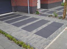 Tuin Hijab hijab e hoor tariq road Modern Landscaping, Backyard Landscaping, Modern Driveway, Porch Tile, Scandinavian Garden, Paving Design, Outdoor Walkway, Garden Paving, London Garden