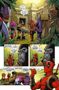 Preview: Deadpool: The Mercs For Money #2, Story: Cullen Bunn Art: Iban Coello Cover: Iban Coello Publisher: Marvel Publication Date: August 10th, 2016 Price: $3.99    The Mercs ...,  #All-Comic #All-ComicPreviews #Comics #CullenBunn #DEADPOOL&THEMERCSFORMONEY #IbanCoello #Marvel #previews