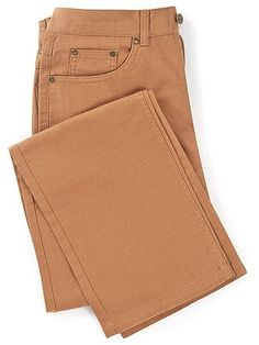 "The perfect option for the warmer months, our regular fit summer jeans are a light and durable trouser that will keep you feeling cool and looking smart even on the warmest of days. New for 2015, these 100 per cent cotton canvas jeans are an essential addition to your wardrobe this year. Wear them with a pair of our lightweight casual Derby shoes and one of our cotton Oxford shirts for a look that will never go out of style. Machine washable at 30°.  Sizes: leg length 27"" available with…"