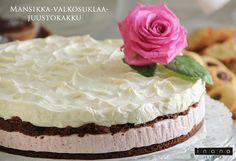 Äitienpäiväkakku Cheesecakes, Vanilla Cake, Sweet, Desserts, Food, Kuchen, Candy, Tailgate Desserts, Deserts