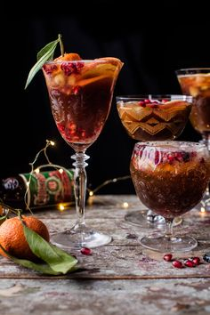 Christmas Ale Sangria - Just take a beer, mix it with fruit, a little apple cider, a little vodka, and a few dashes of orange bitters. @halfbakedharvest.com