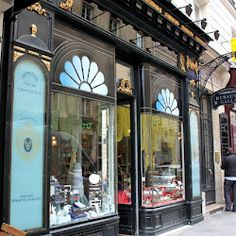 Debauve et Gallais - chocolates-France-the oldest chocolate shop in the world! Josephine Bonaparte bought her chocolates here.