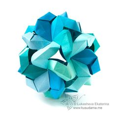 #polyhedra #origami #kusudama #lukasheva_ekaterina #modulata