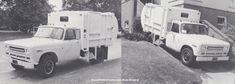 Garbage Truck, International Harvester, Recreational Vehicles, Transportation, Trucks, Classic, Vintage, Derby, Camper