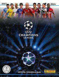 Panini Champions League 2014 Album Cover